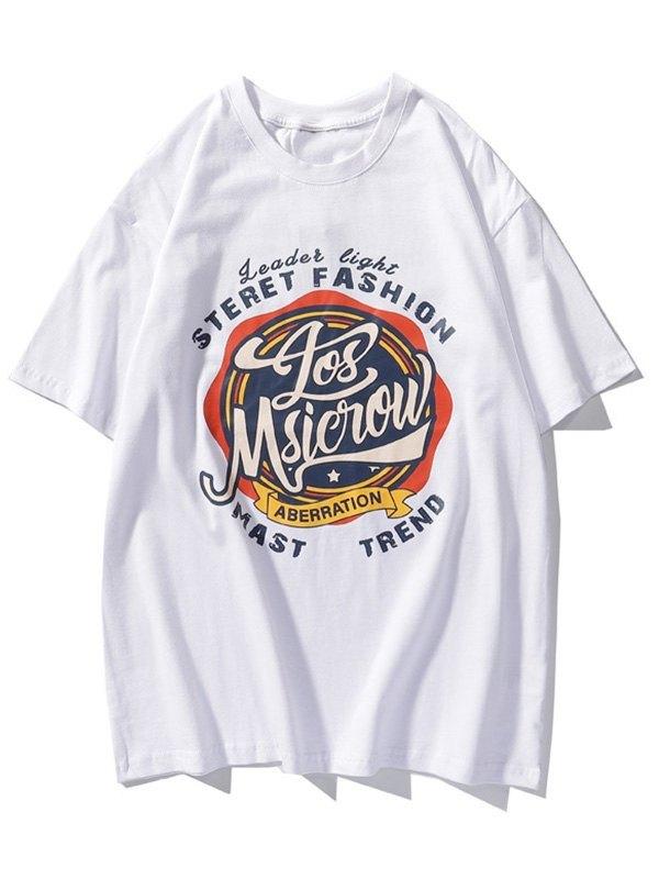 Men's Aberration Graphic Tee - White XL